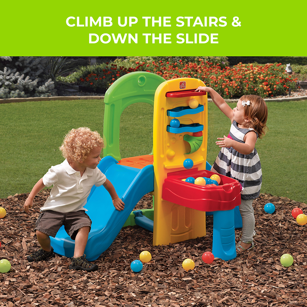 Outdoor Toys For 1 : Play ball fun climber kids step