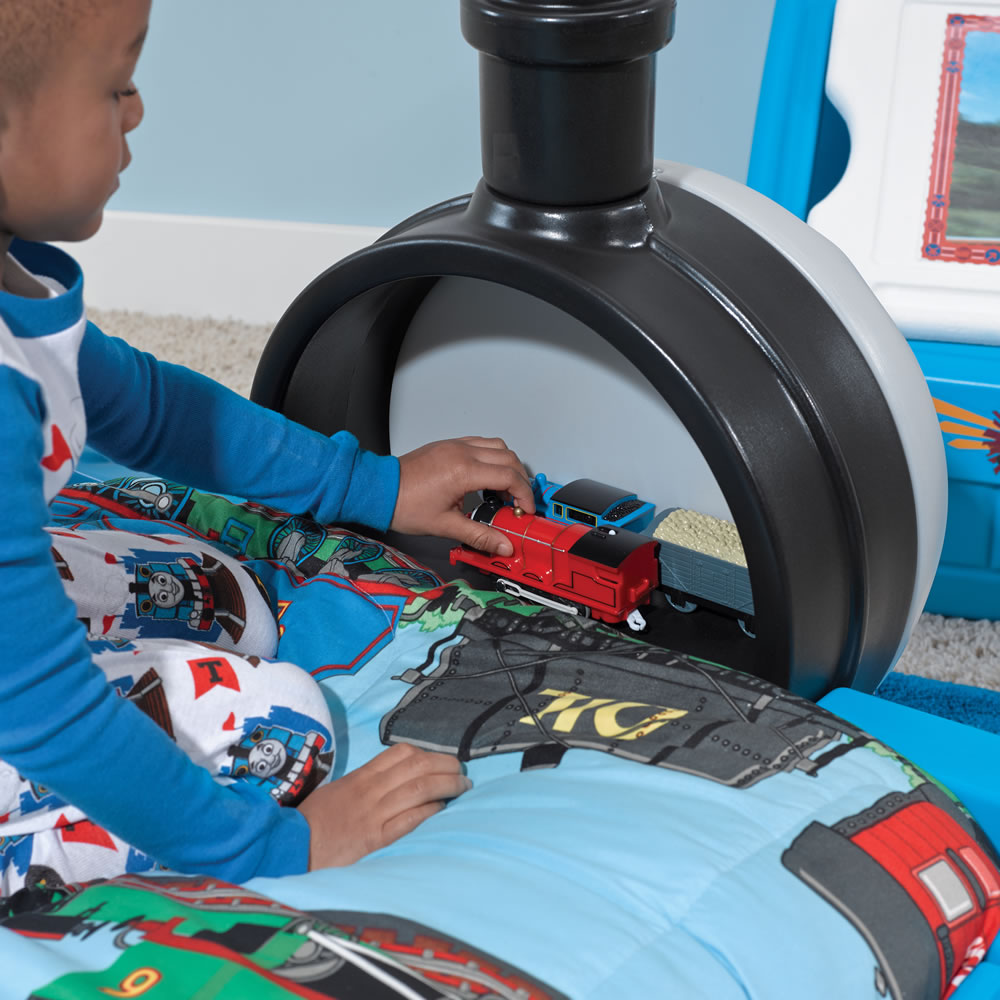 Step2 Thomas the Tank Engine Toddler Bed storage