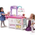 Love & Care Deluxe Nursery™ - White and Pink