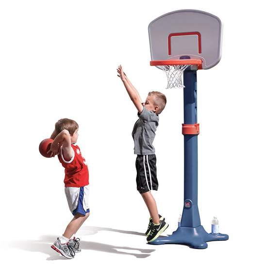 Step2 Kick and Shoot Sports Combo basketball hoop