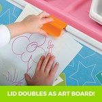 Step2 2-in-1 Toy Box & Art Lid Pink art clip