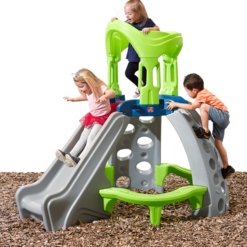 Toys For 2 And Up : Castle top mountain climber kids step