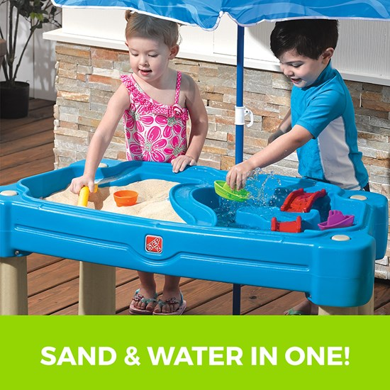 Step2 Cascading Cove Sand & Water Table