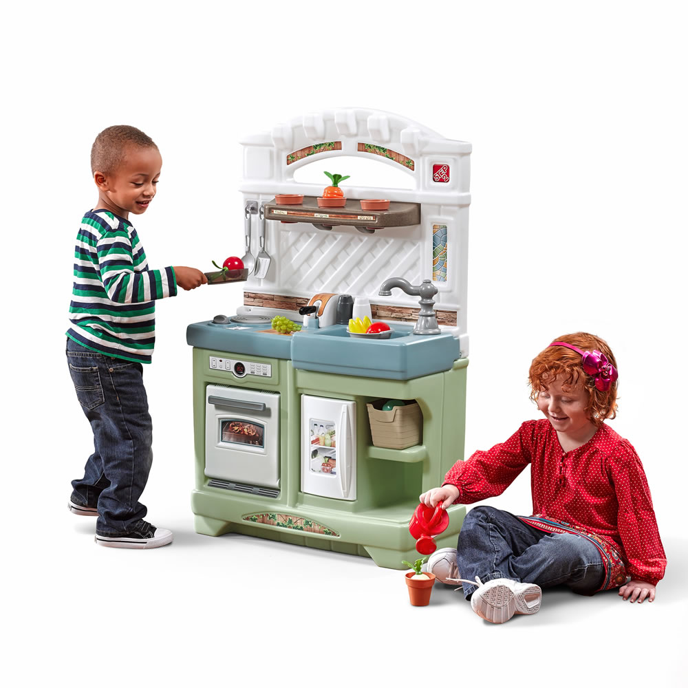 Garden Fresh Kitchen | Kids Play Kitchen | Step2