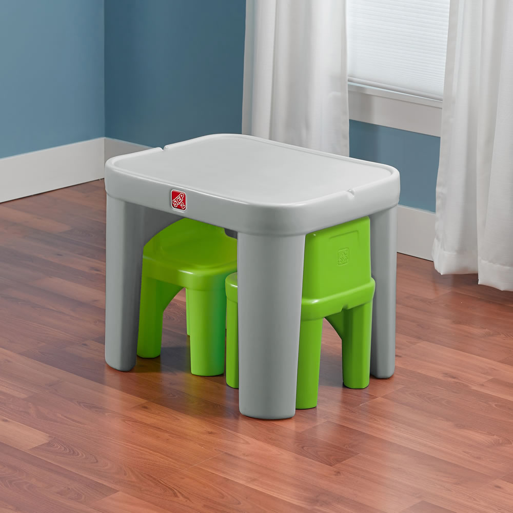 Mighty My Size Table & Chairs Set | Step2