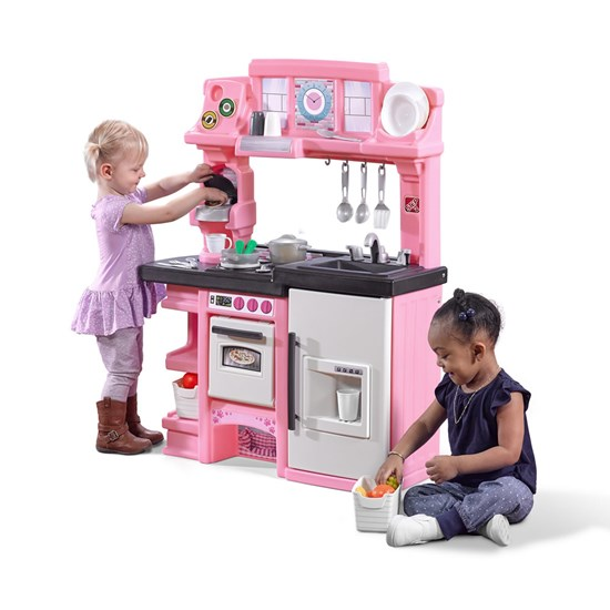 coffee time kitchen  kids play kitchen  step2