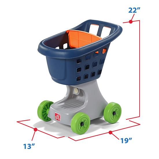 Step2 Little Helper's Cart & Shopping Set accessories
