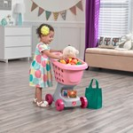 step2 Little Helper's Cart & Shopping Set - Pink