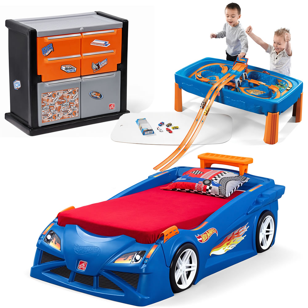 Step2 Hot Wheels Bedroom Combo