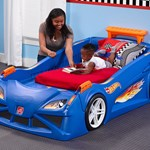 Step2 Hot Wheels Bedroom Combo Toddler Bed