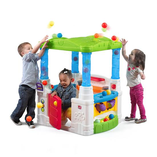 Step2 Busy Ball Play Set playhouse