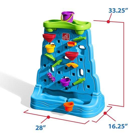 Step2 Waterfall Discovery Wall Top Water Bucket