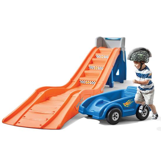 Hot Wheels Extreme Thrill Coaster Kids Coaster Step2