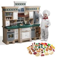 LifeStyle Deluxe Kitchen with Extra Play Food Set