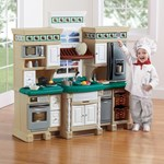 Step2 LifeStyle Deluxe Kitchen with Extra Play Food Set