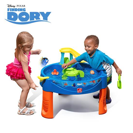 step2 Finding Dory Swing & Swirl Water Table
