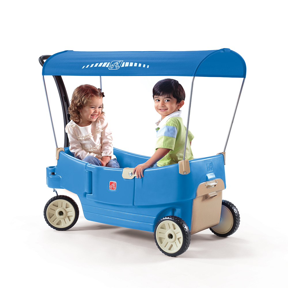 Step2 All Around Canopy Wagon Blue
