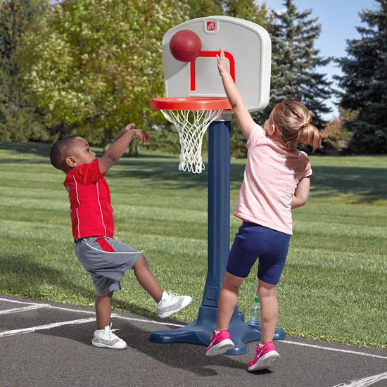 Step2 Shootin' Hoops Junior 42 Inch Basketball Set