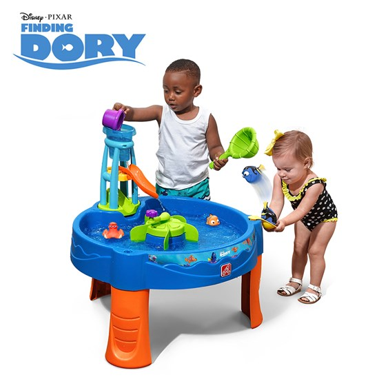 step2 finding dory whirlin waves water table
