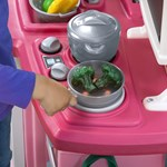 Step2 Pink Great Gourmet Kitchen stove top