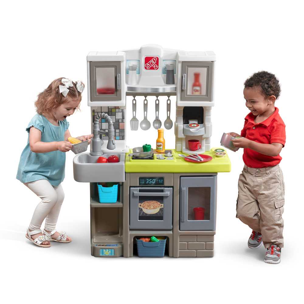Play Kitchen Contemporary Chef Kitchen Kids Play Kitchen Step2