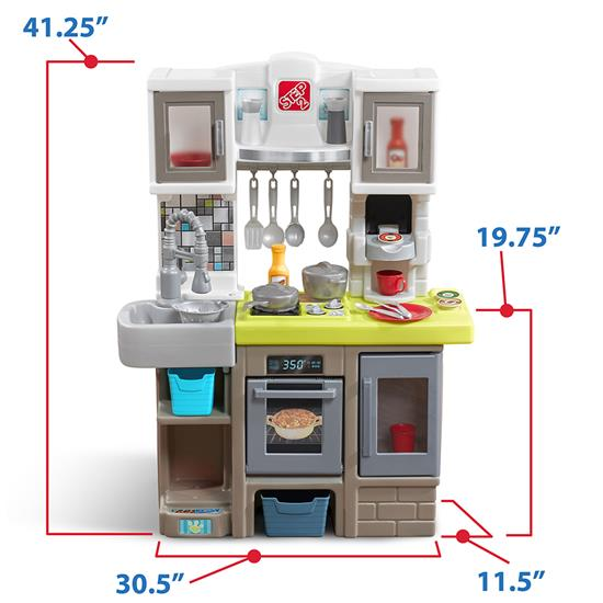 Step2 Contemporary Chef Kitchen cupboard