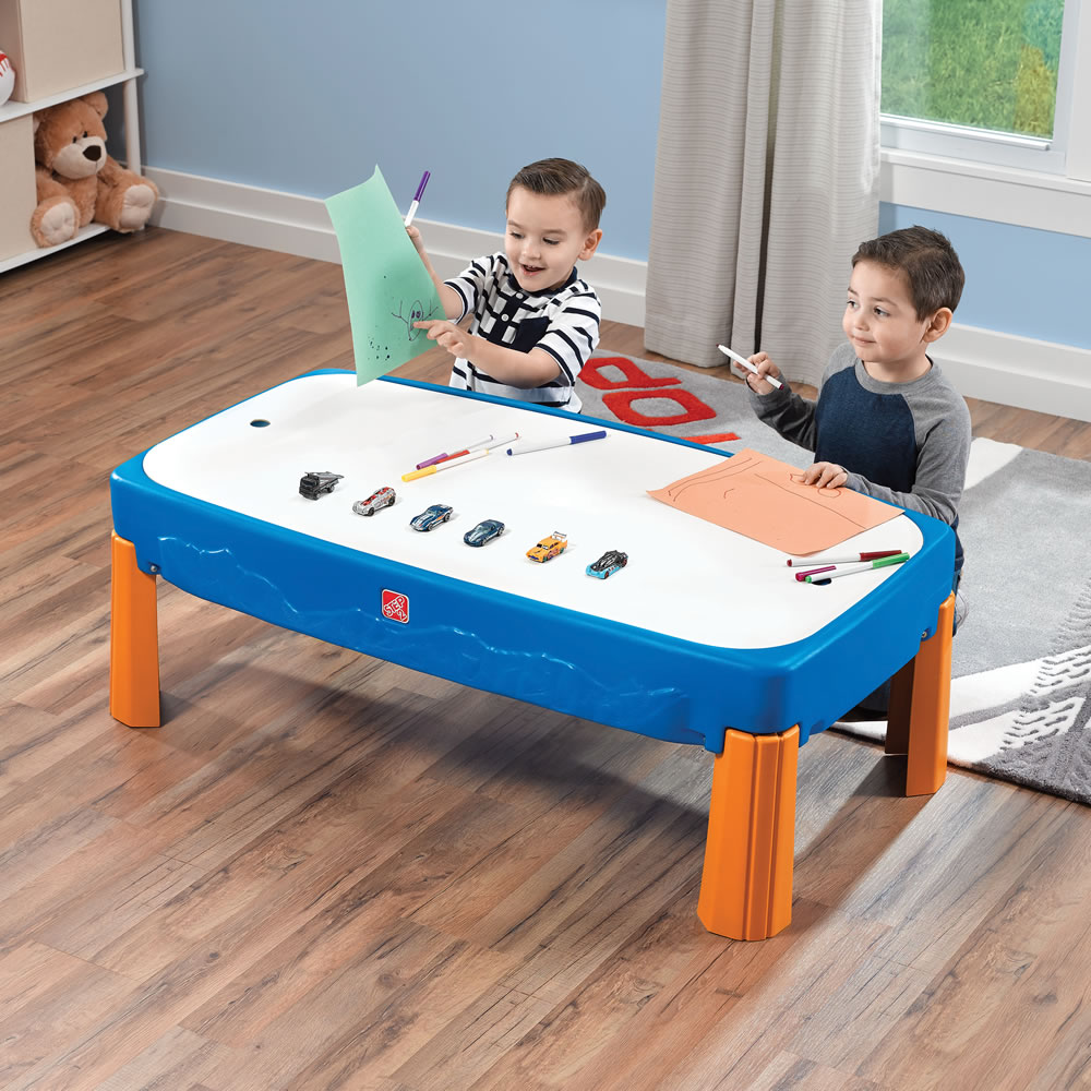 Step2 Hot Wheels Car & Track Play Table lid