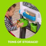 Step2 Great Creations Art Center storage bins