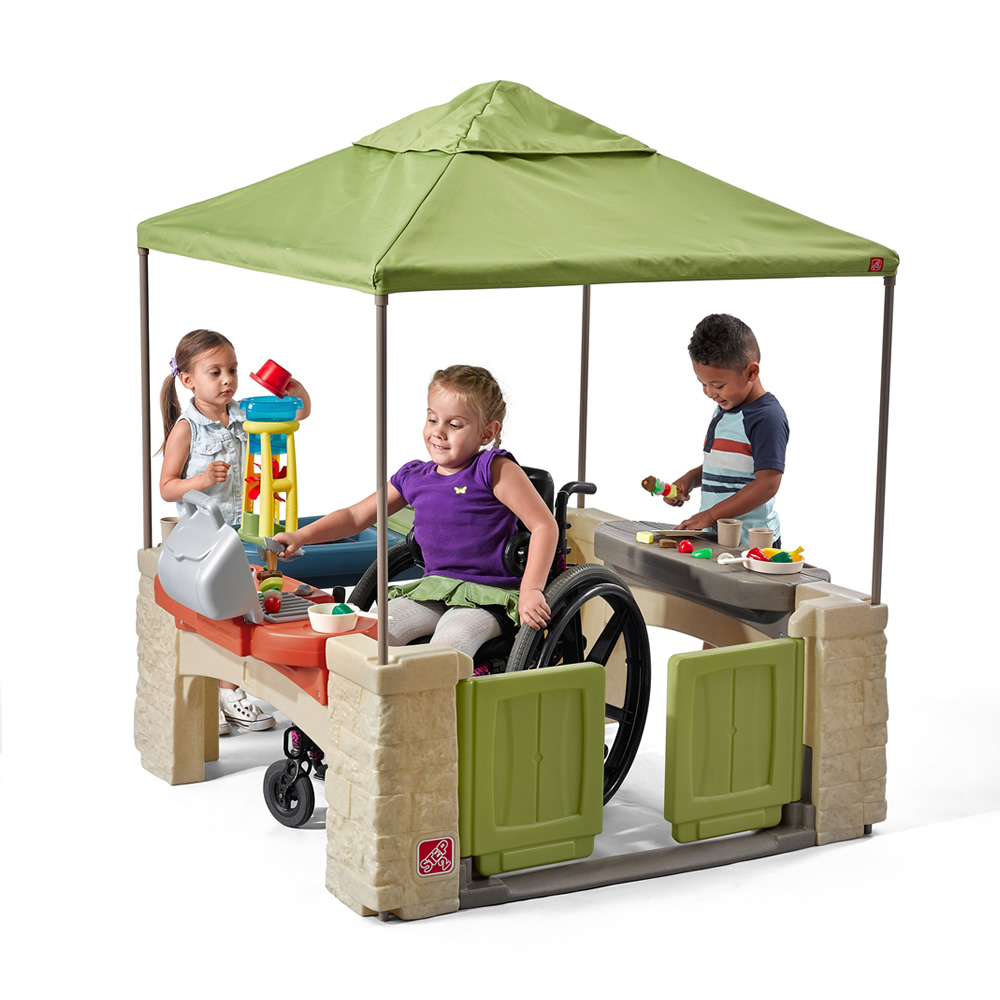 Charming Step2 All Around Playtime Patio With Canopy Gallery