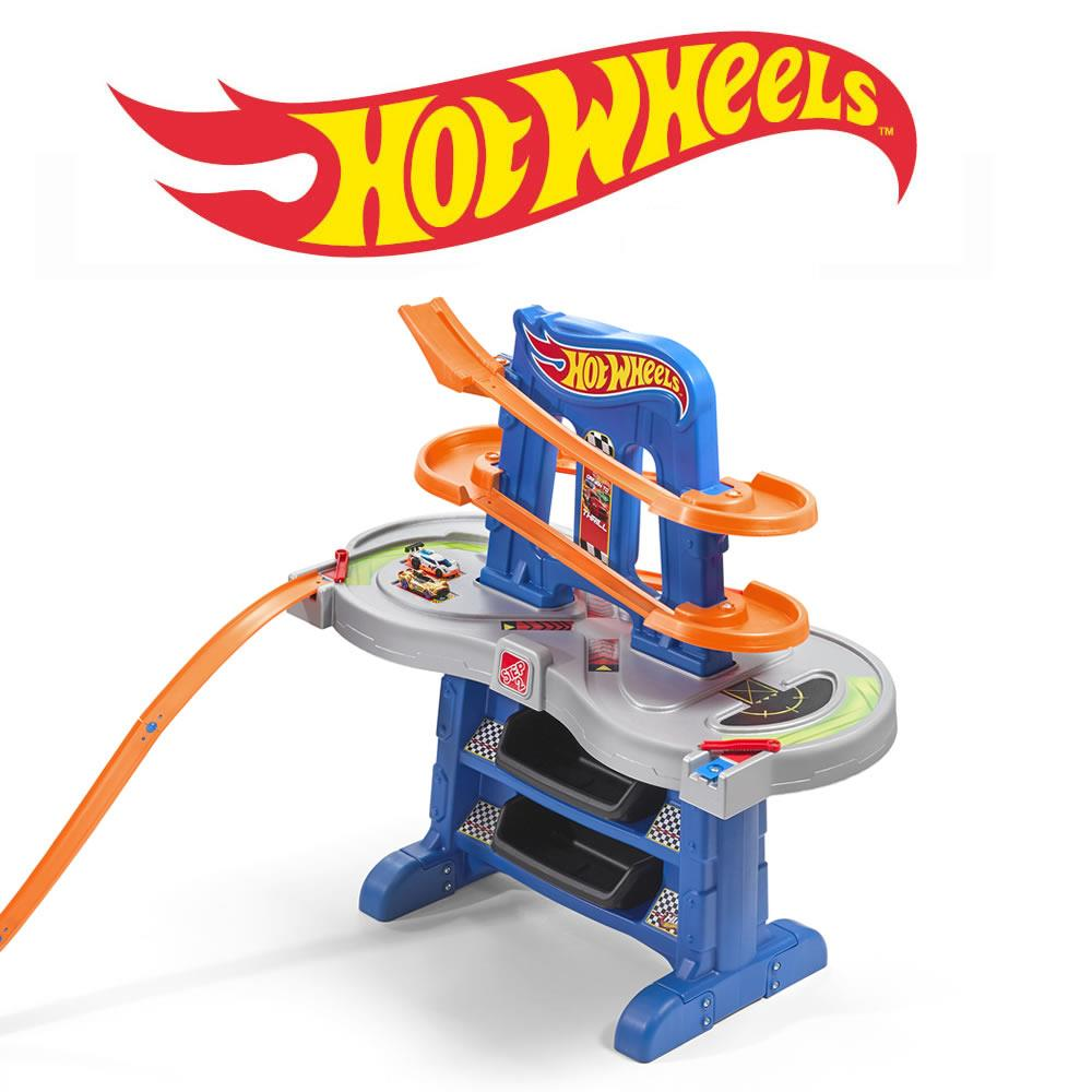 Hot Wheels Road Rally Raceway Kids Pretend Play Step2