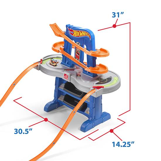 Step2 Hot Wheels Road Rally Raceway track
