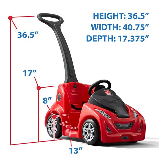 step2 push around buggy gt red