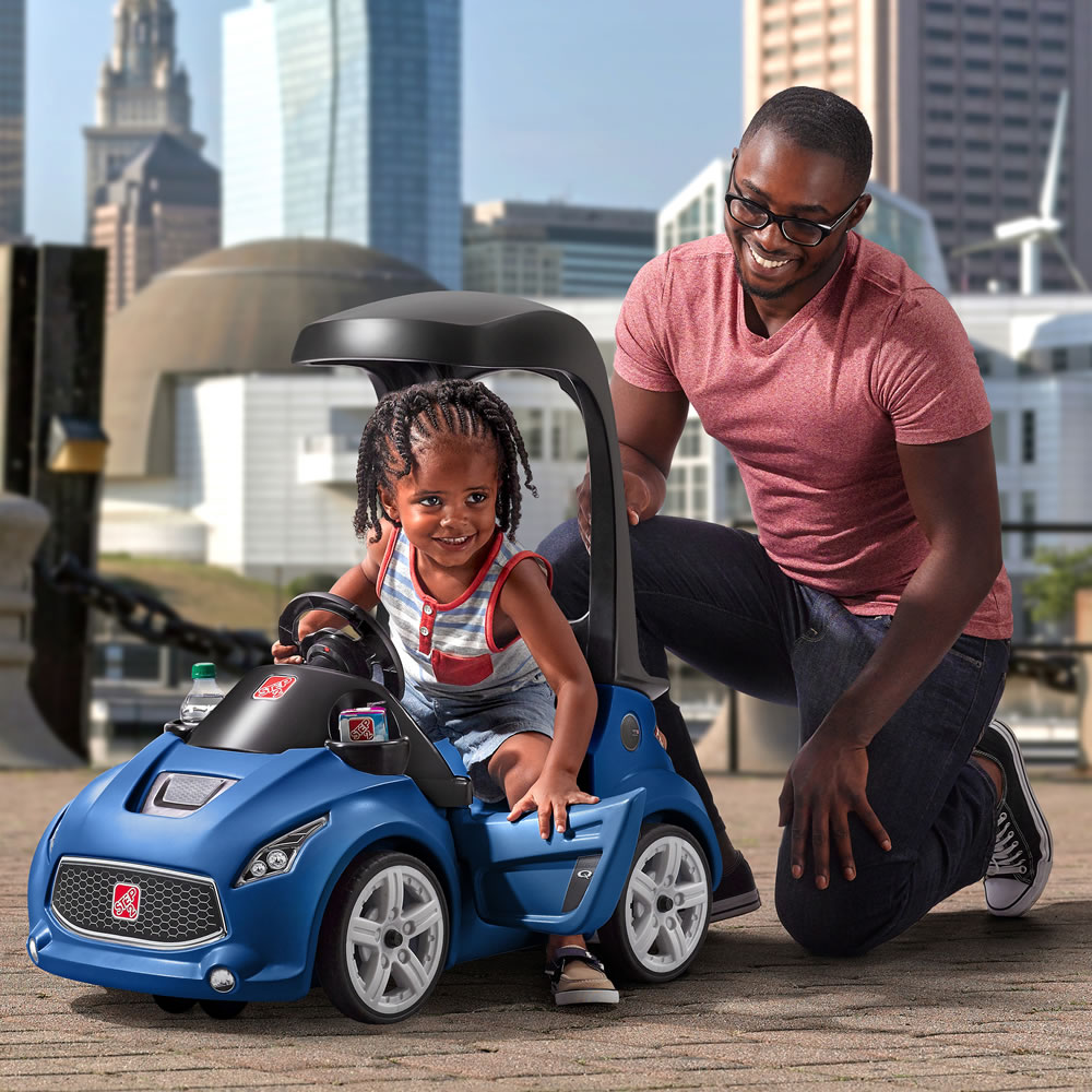 Turbo Coupe Foot To Floor Blue Kids Ride On Step2