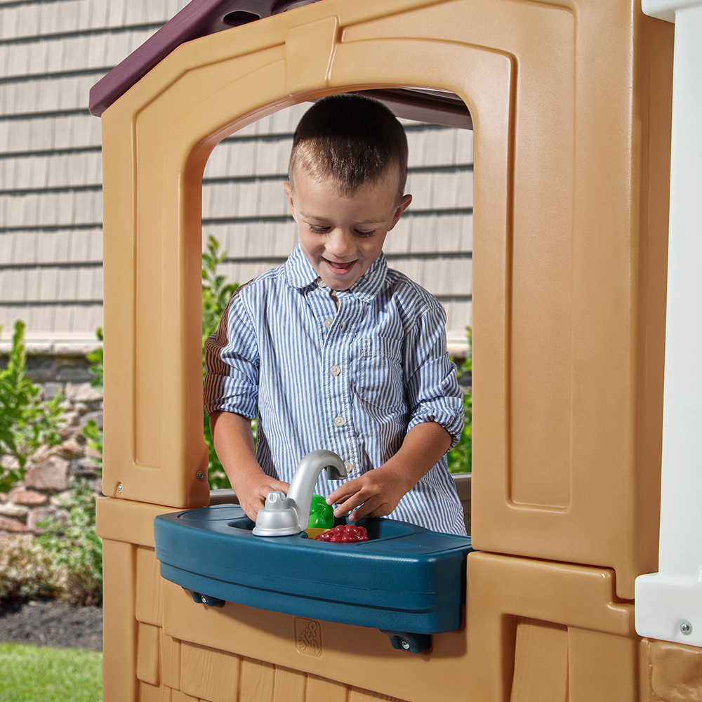 Step2 Porch View Playhouse sink