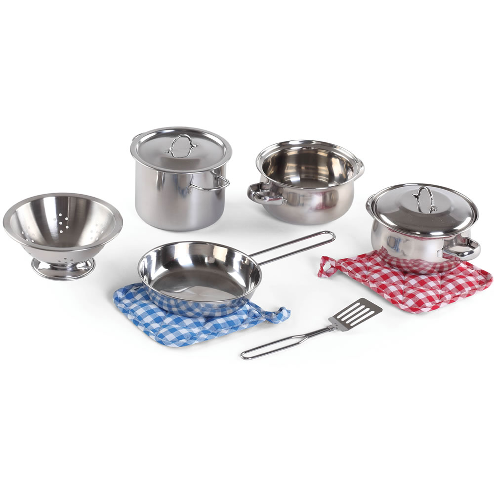Cooking Essentials 10-pc Stainless Steel Set