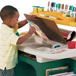 Step2 Art Master Activity Desk lift up dry eraseboard