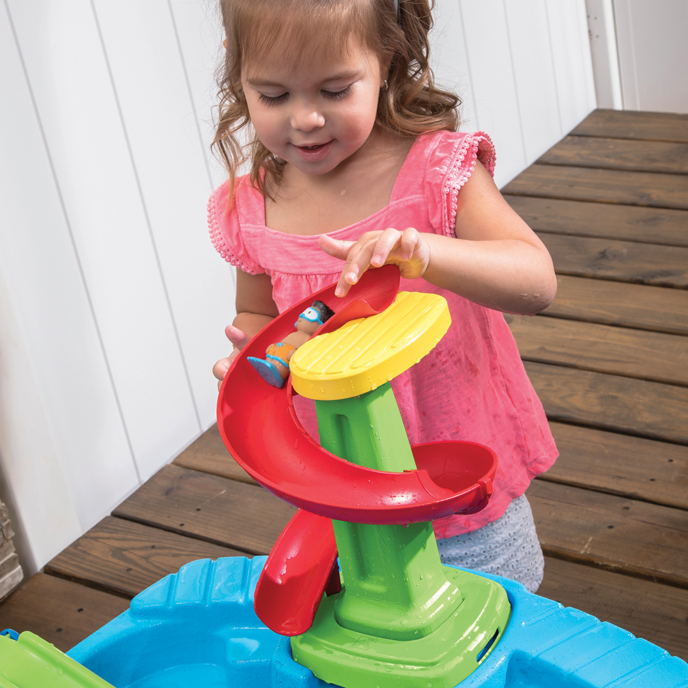 Step2 Fiesta Cruise Sand & Water Table spiral slide