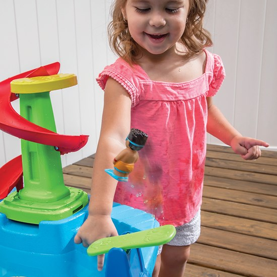 Step2 Fiesta Cruise Sand & Water Table diving board