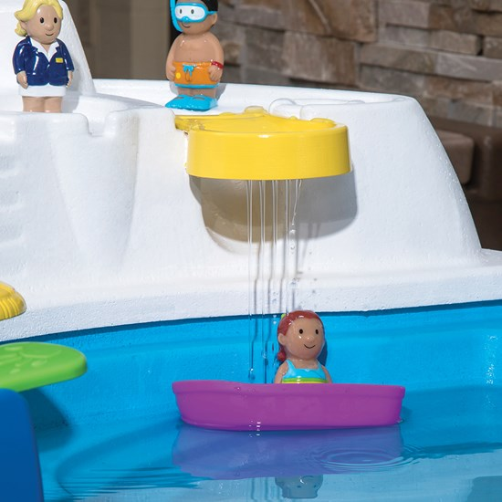 Step2 Fiesta Cruise Sand & Water Table figurines