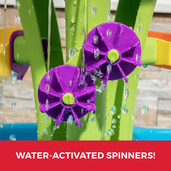 Step2 Summer Showers Splash Water Table spring board