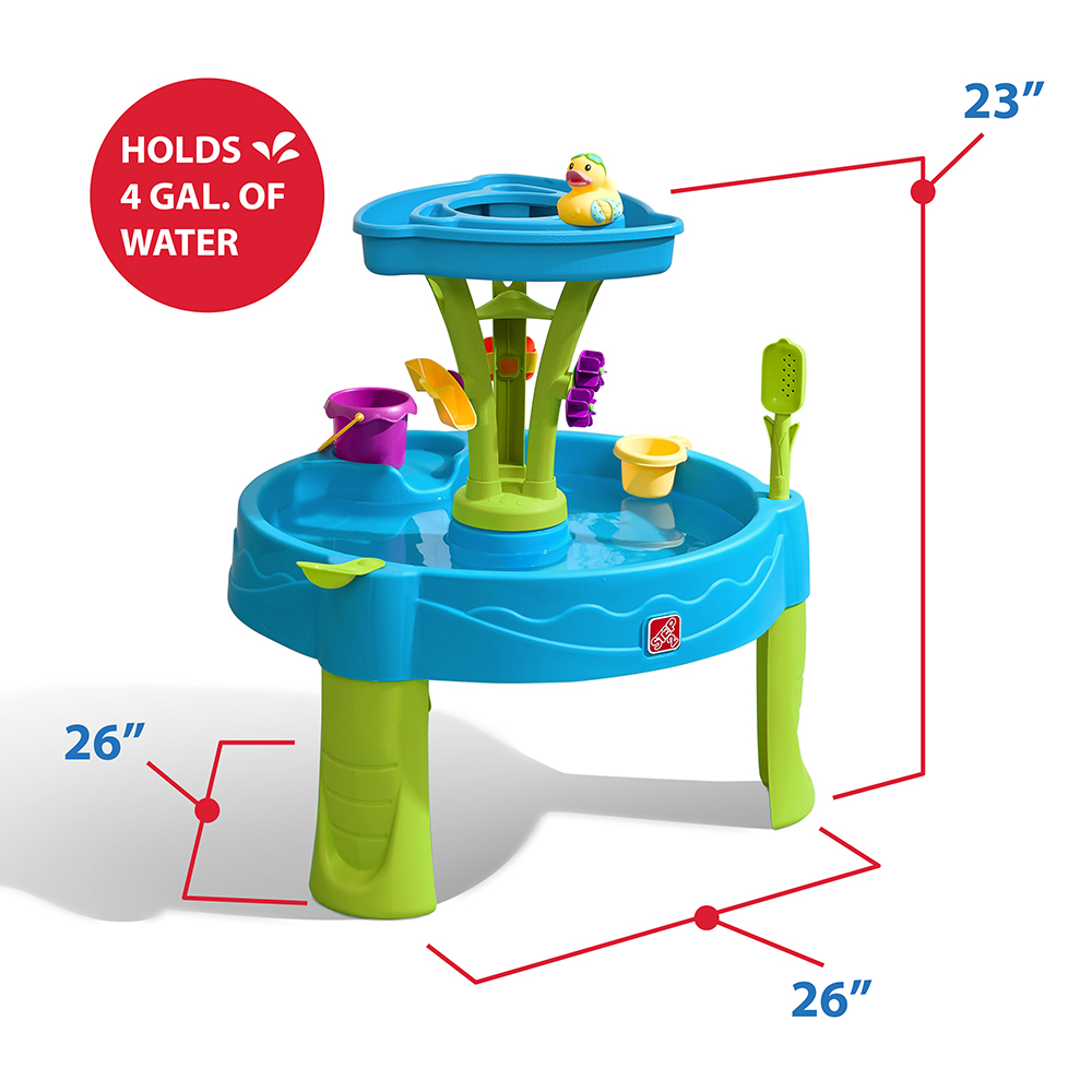 Step2 Summer Showers Splash Water Table water spinner