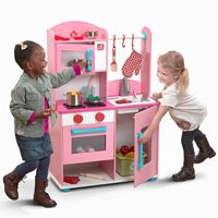 Midtown Modern Wood Kitchen™ - Pink