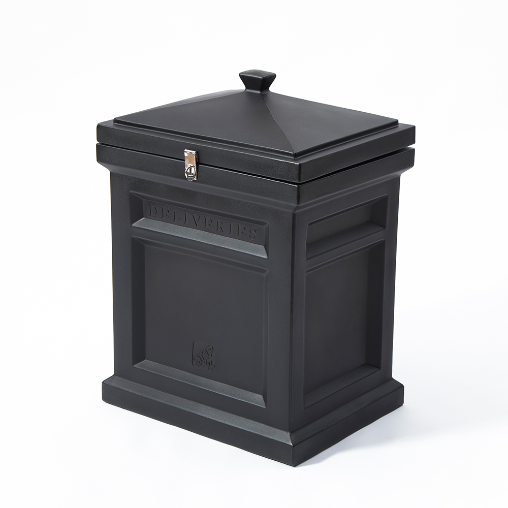 Step2® Deluxe Package Delivery Box™ - Elegant Black