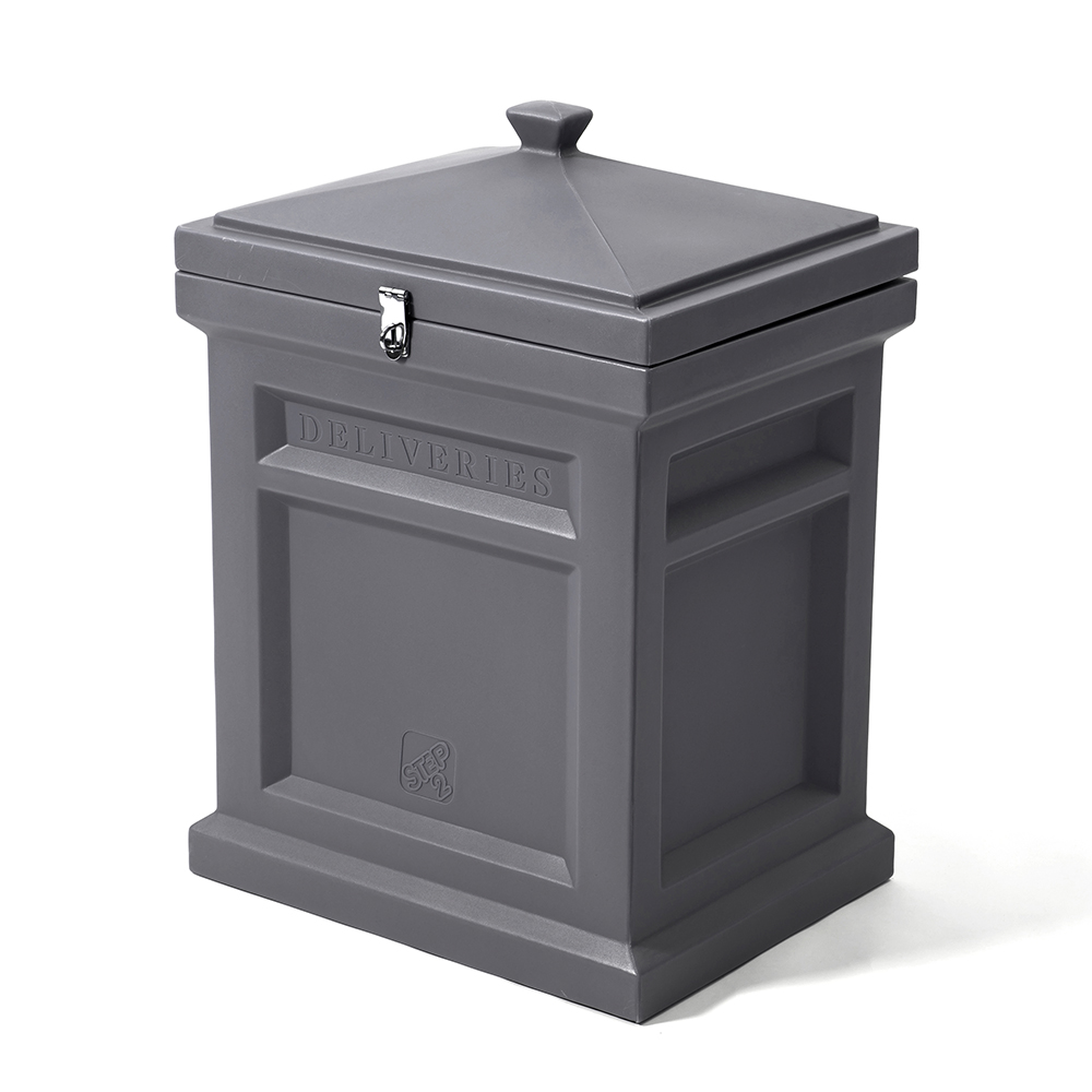 Step2® Deluxe Package Delivery Box - Manor Gray