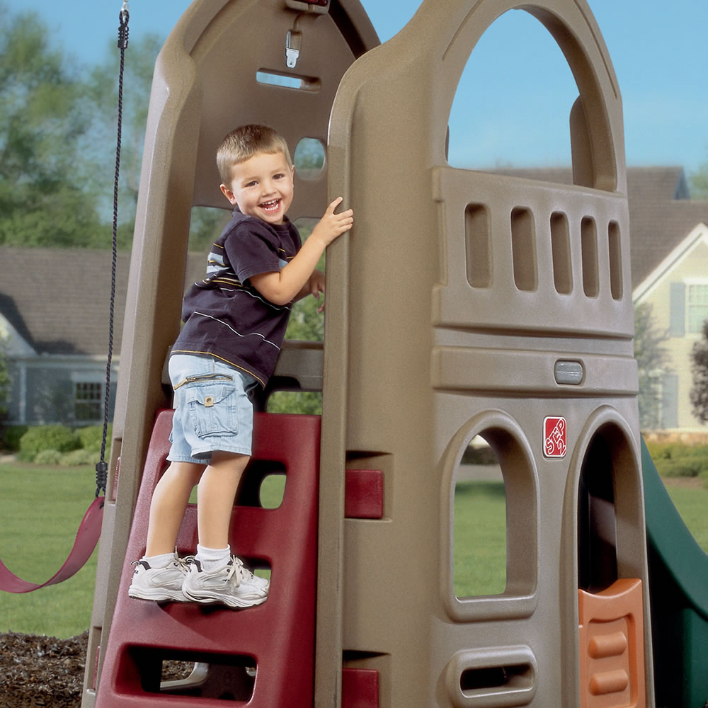 Step2 Playhouse Climber & Swing Extension Swing Set
