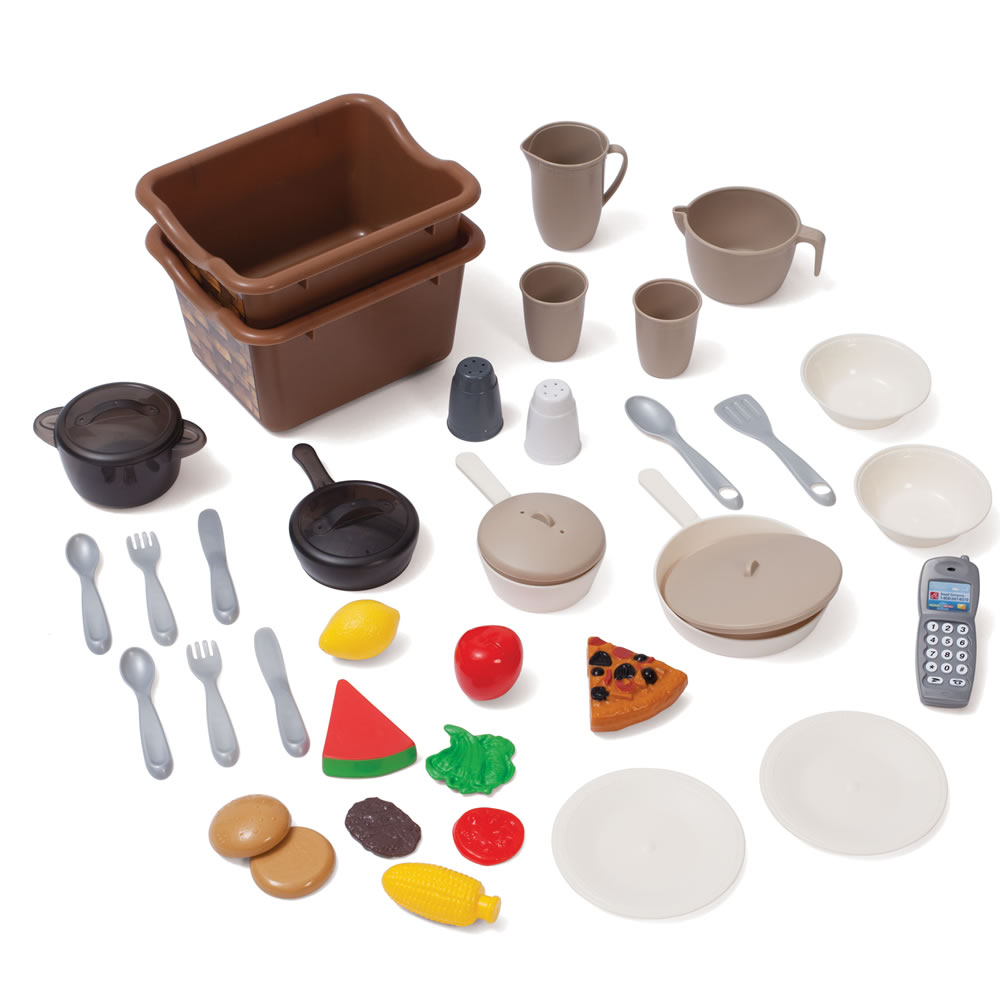 awesome Step 2 Lifestyle Dream Kitchen Accessories Part - 5: Step2 LifeStyle Deluxe Kitchen accessory set