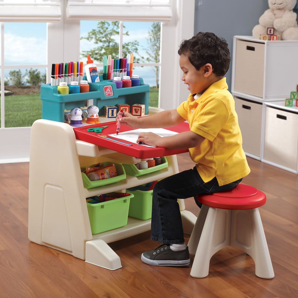 Marvelous Parts For Flip Doodle Easel Desk With Stool Kids Art Bralicious Painted Fabric Chair Ideas Braliciousco